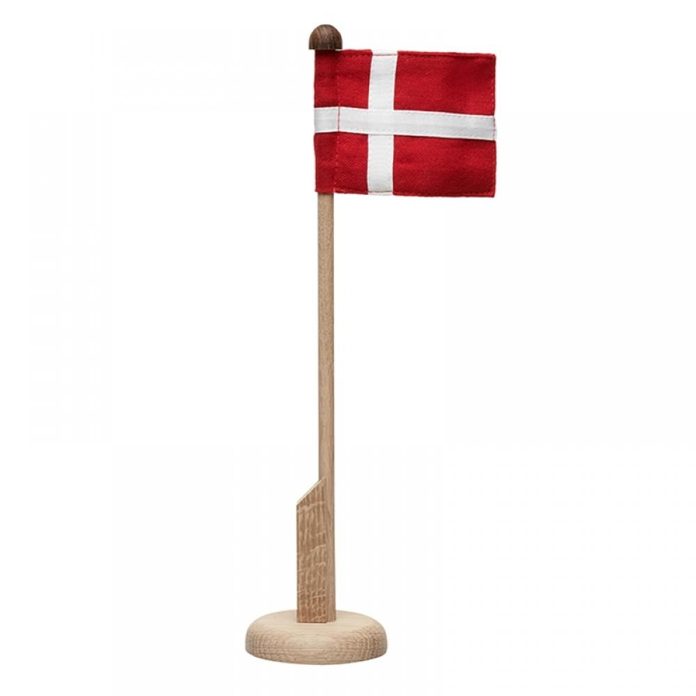 Langkilde & søn - Bordflag i egetræ H30cm
