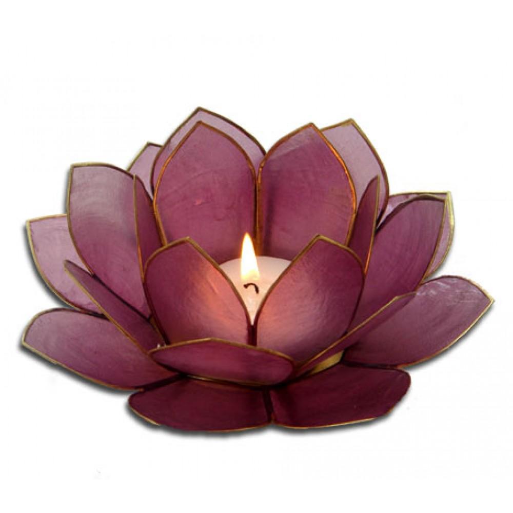 Lotusstage - Mørk Rosa