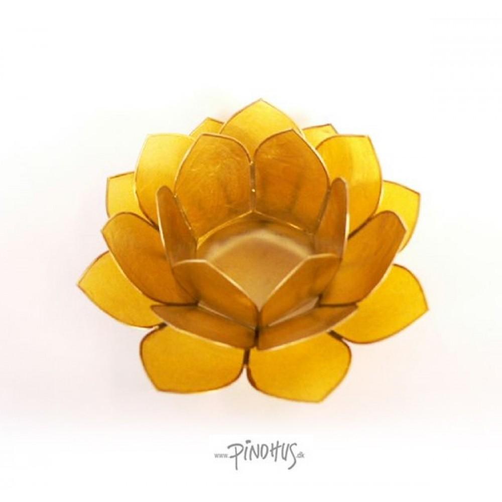Lotusstage - Mørk gul