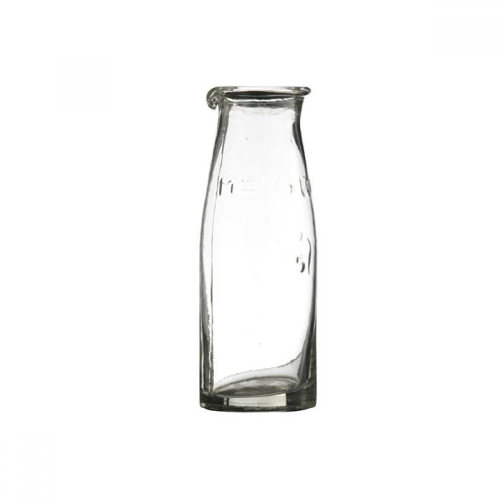 Mælkeflaske i glas 16cm-30