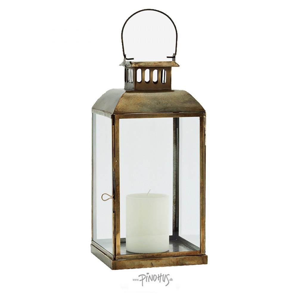 Madam Stoltz Messing lanterne H36cm-31