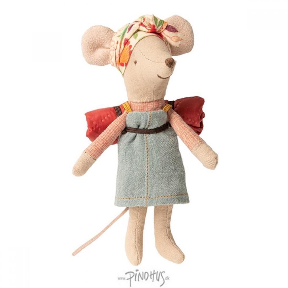 Maileg Hiker mus pige-32