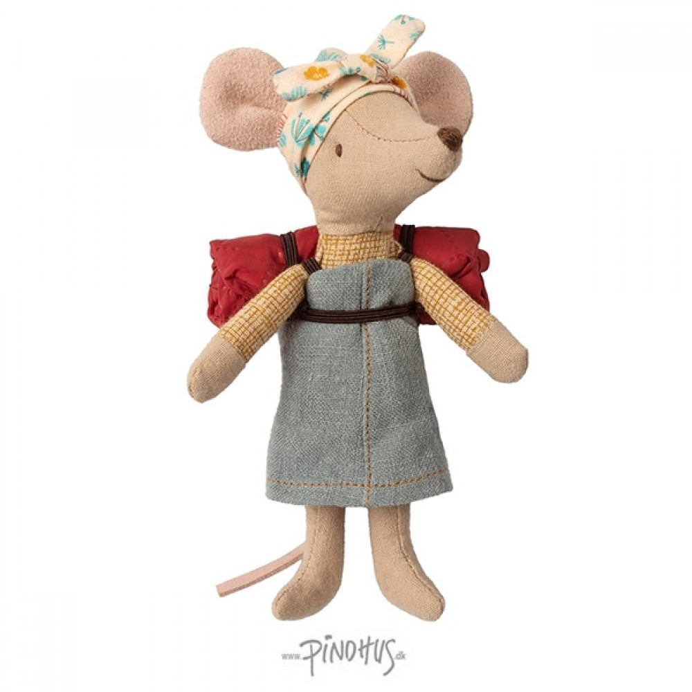 Maileg Hiker mus pige-33