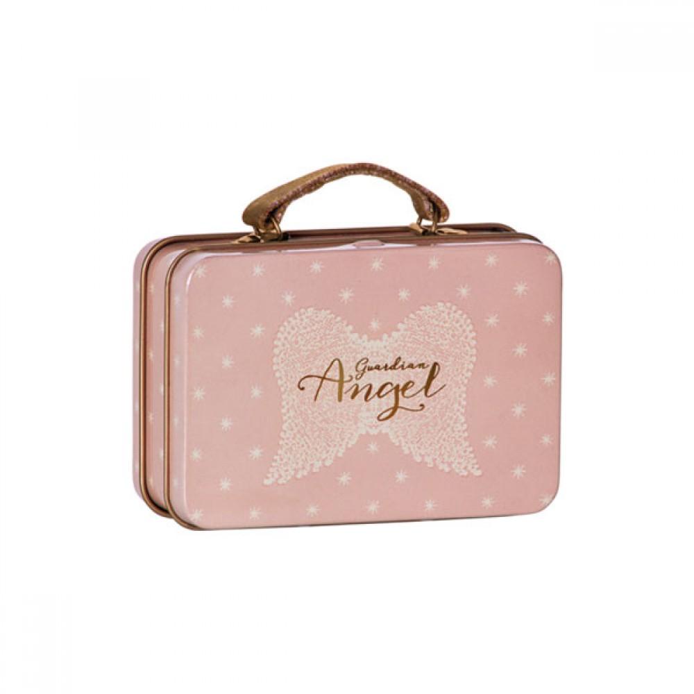 Maileg metal rosa kuffert-30