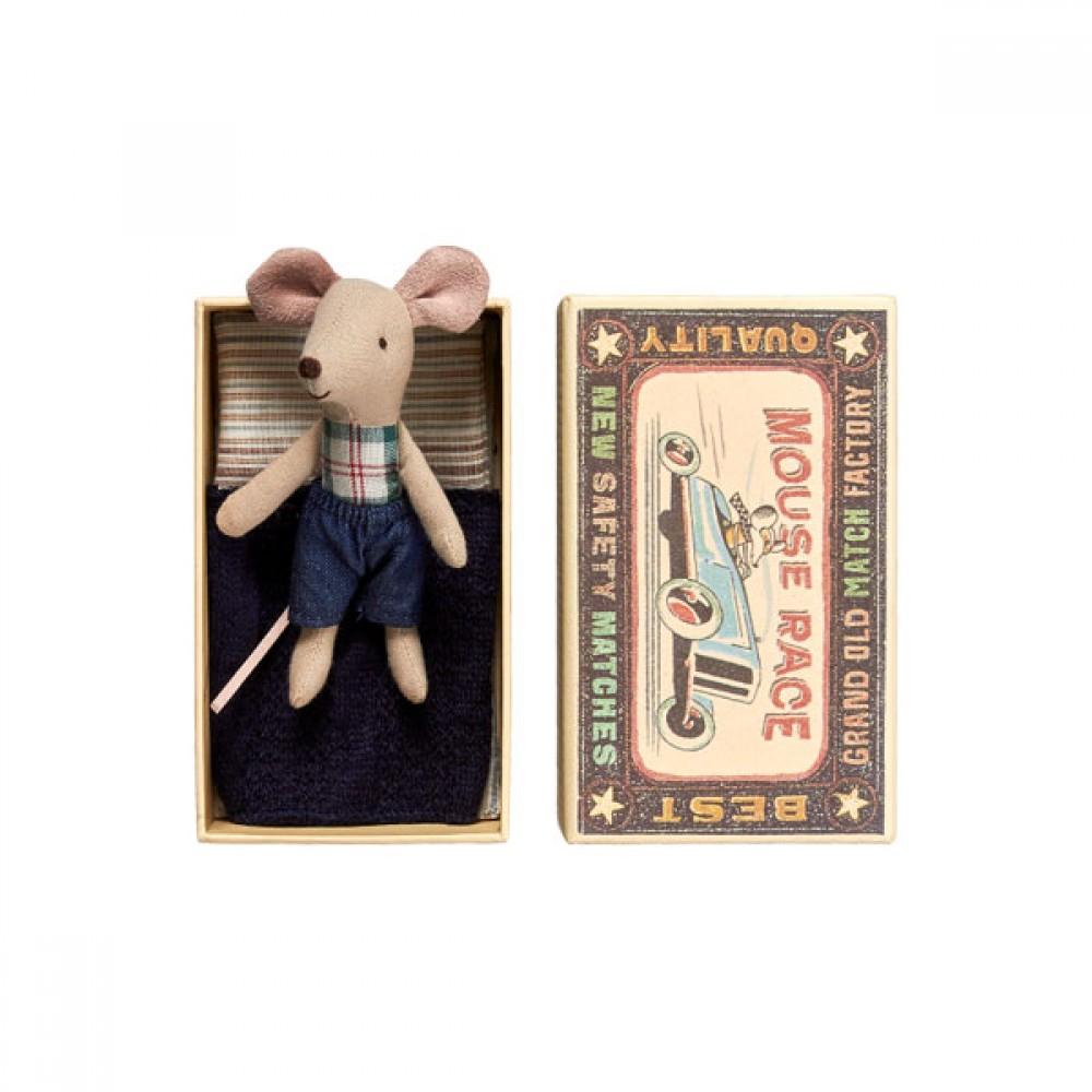 Maileg mus Mini mus i æske/Dreng-30