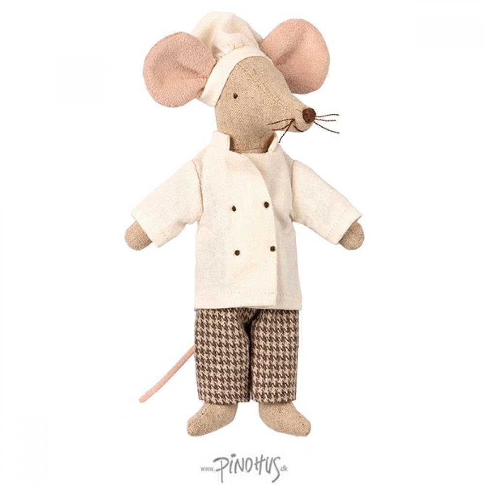 Maileg mus - Gourmet kok