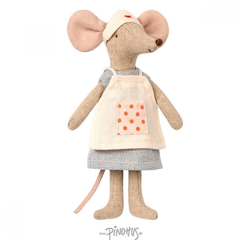 Maileg mus - Sygeplejerske