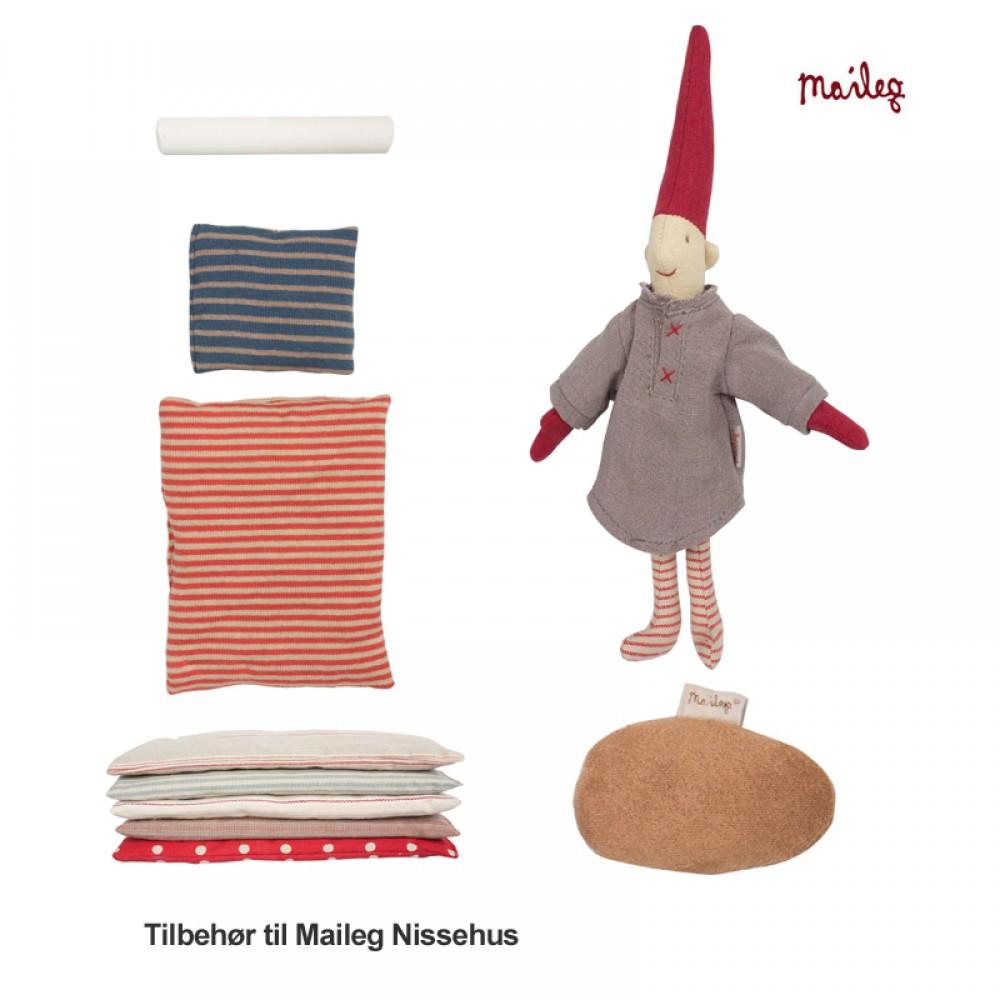 Maileg Nissehus incl. nisse og tilbehør-30