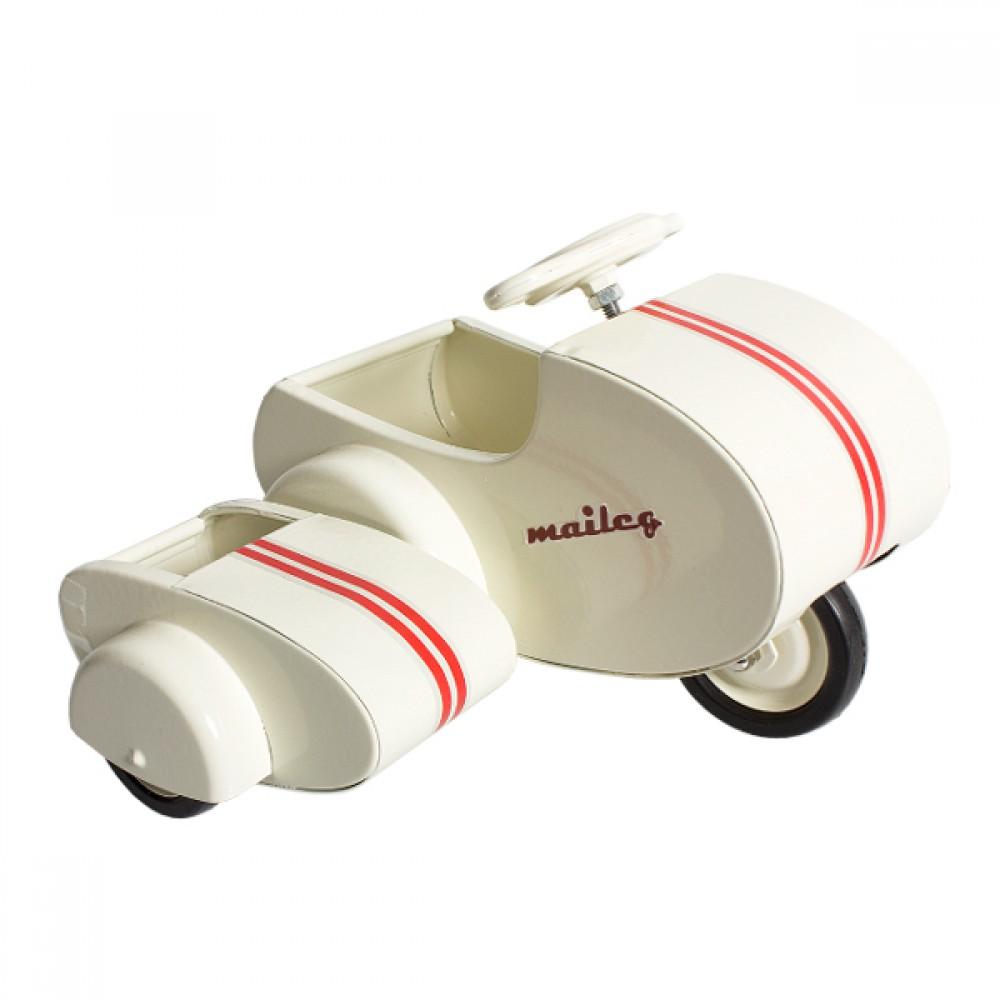 Maileg Scooter m/ sidevogn-30