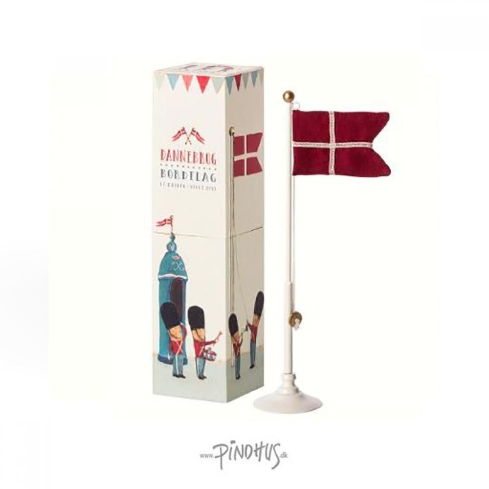 Maileg Dannebrog Bord flag 25,5cm-31
