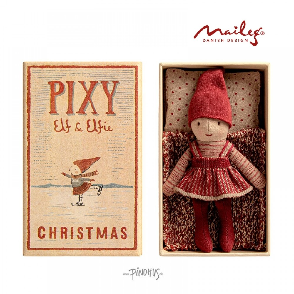 Maileg Jul Pixy i box-01