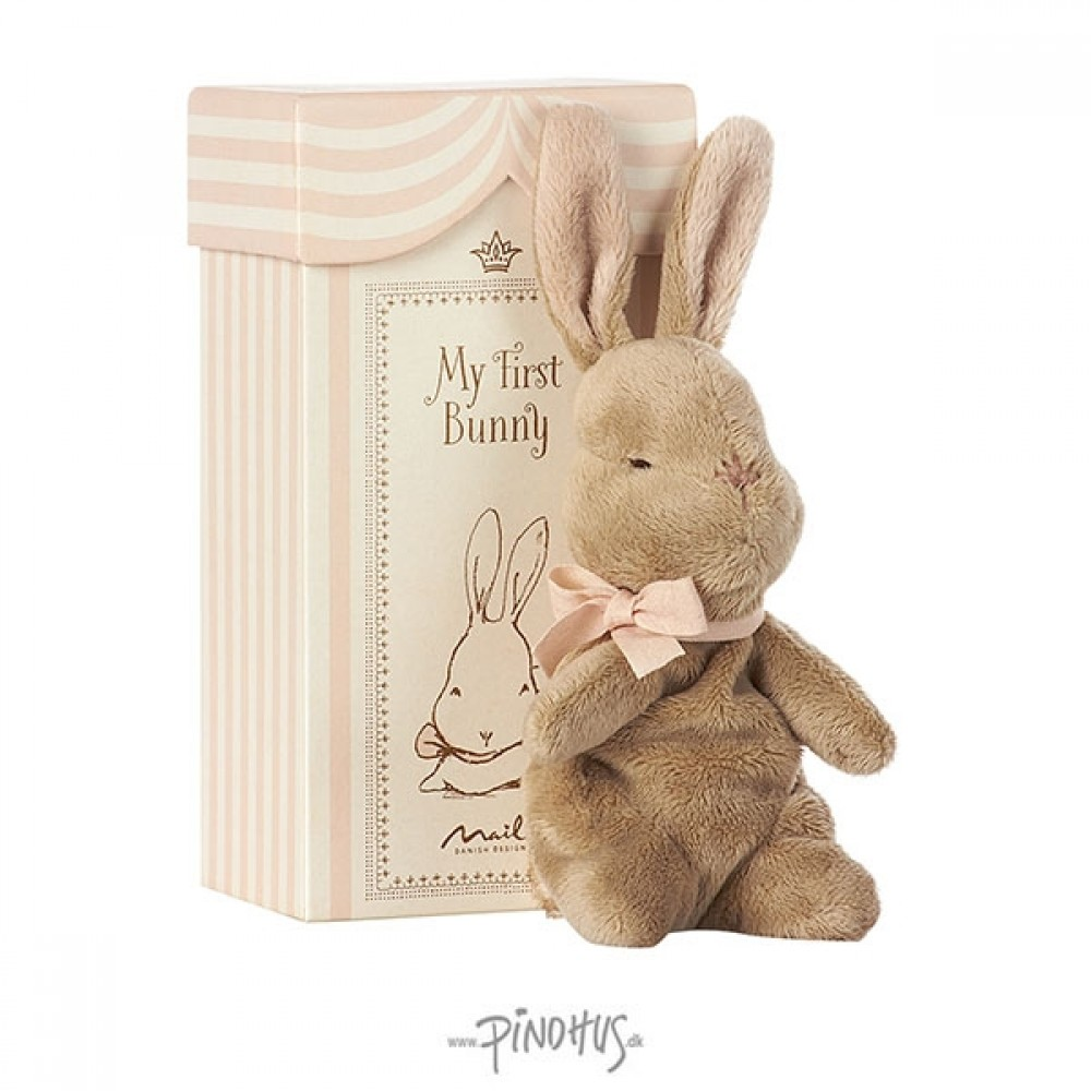 Maileg My first Bunny rosa box-31