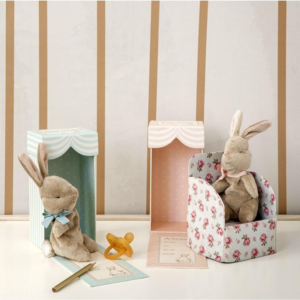 Maileg My first Bunny blå box-31