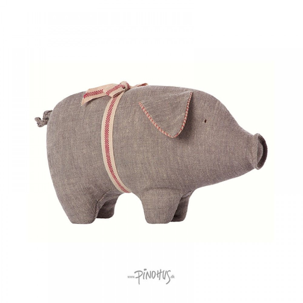 Maileg Hør gris grå small-31