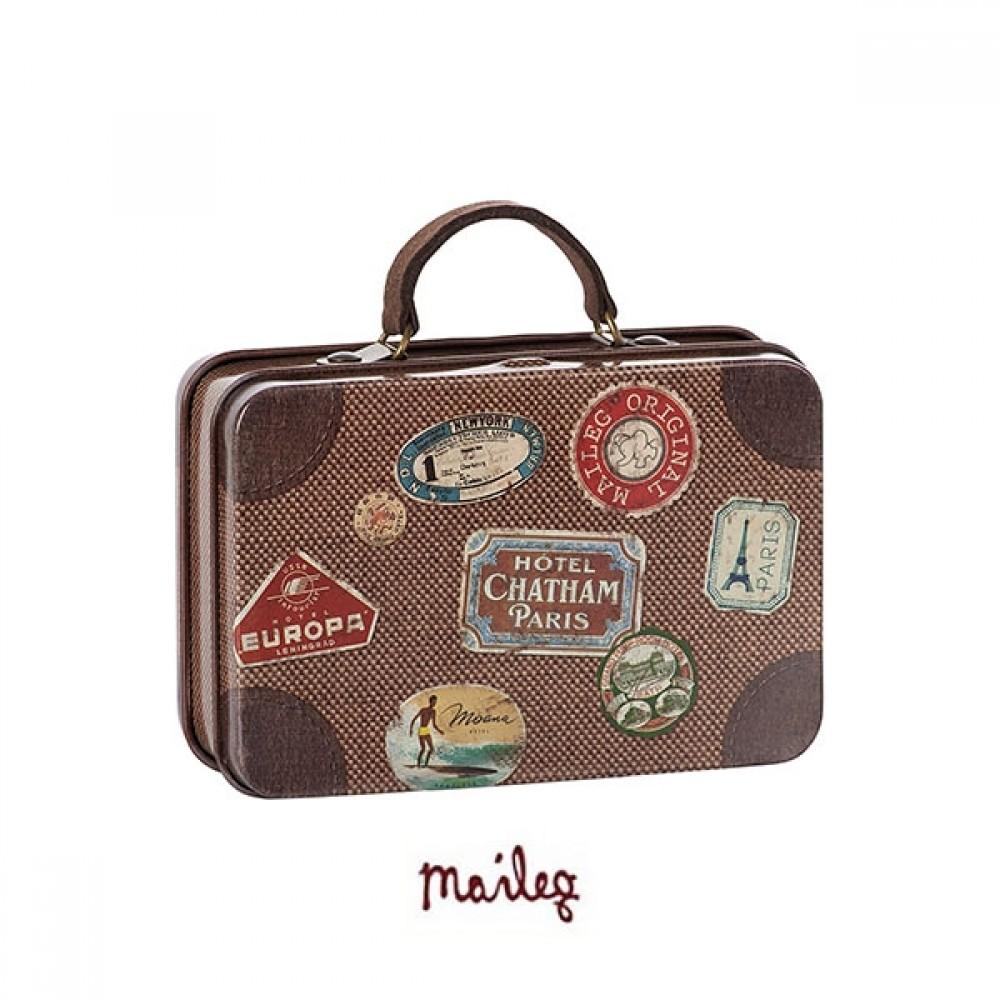 Maileg metal rejse kuffert-31