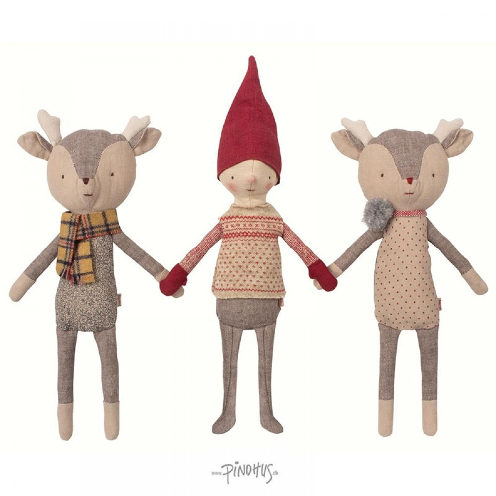 Maileg Jul Winter Friends Pixy-31