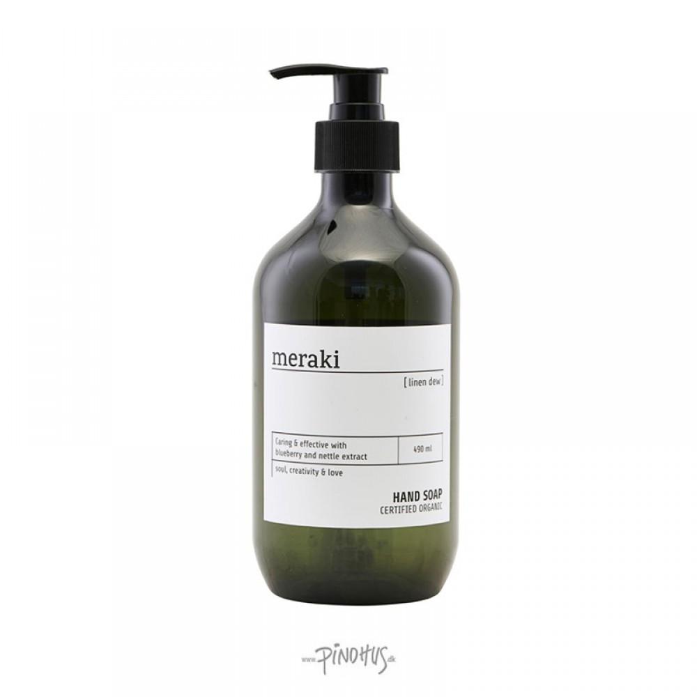 Meraki Organic håndsæbe Linen Dew-39