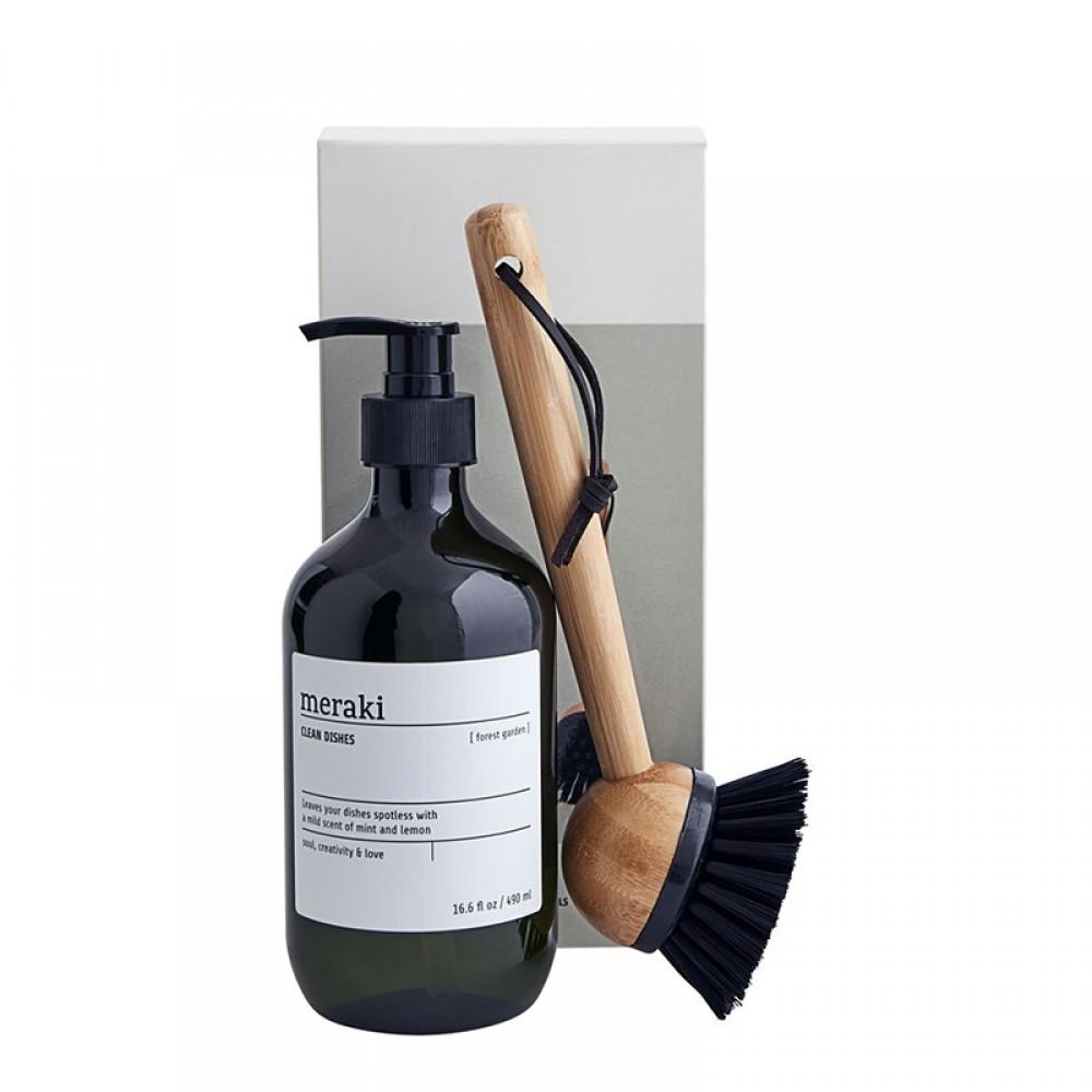Meraki - Gaveæske Forest garden opvask + børste