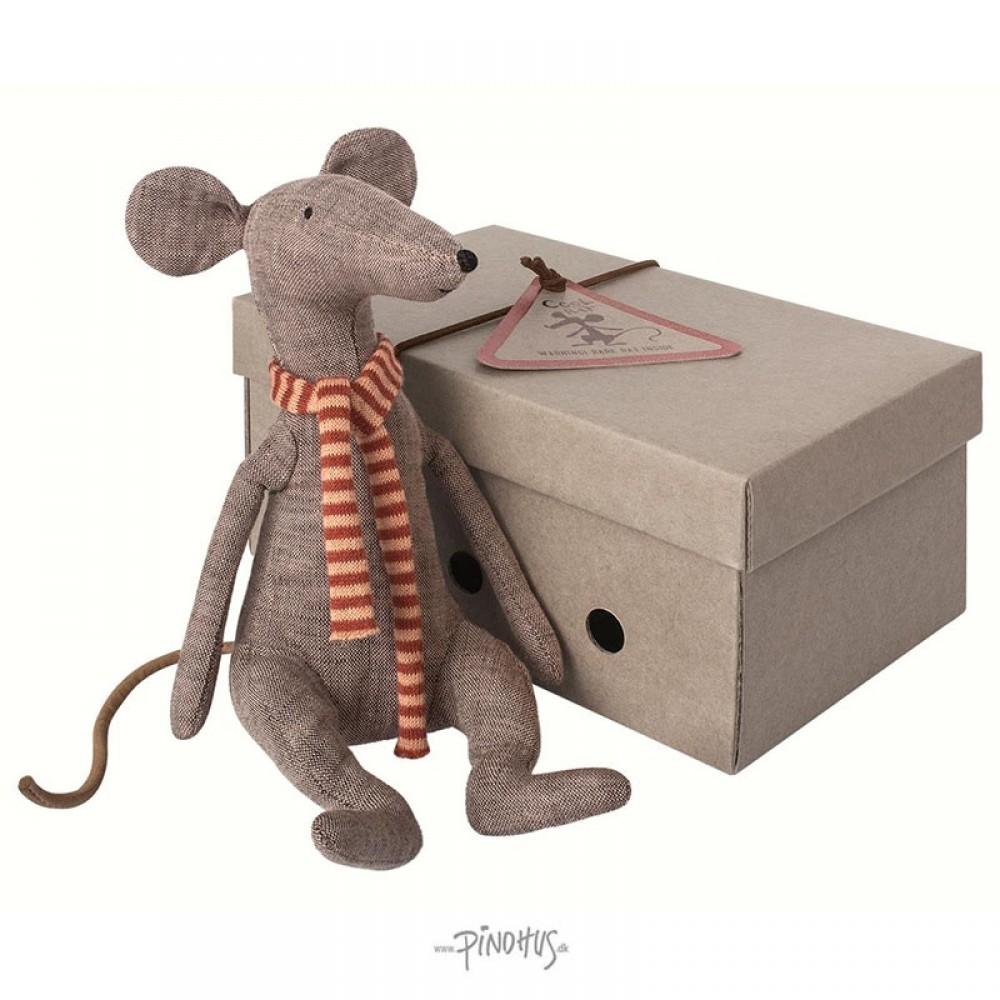 Maileg Mr. Cool rat grey-31