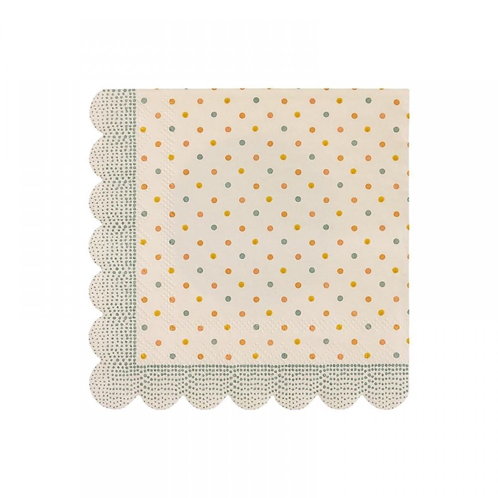 Maileg - Multi dots servietter
