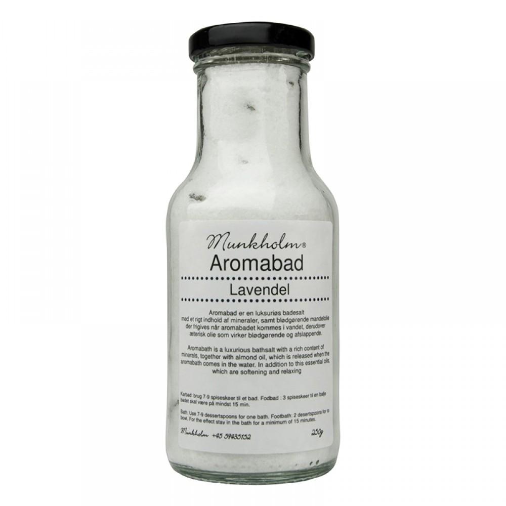 Munkholm Aromabadesalt - lavendel