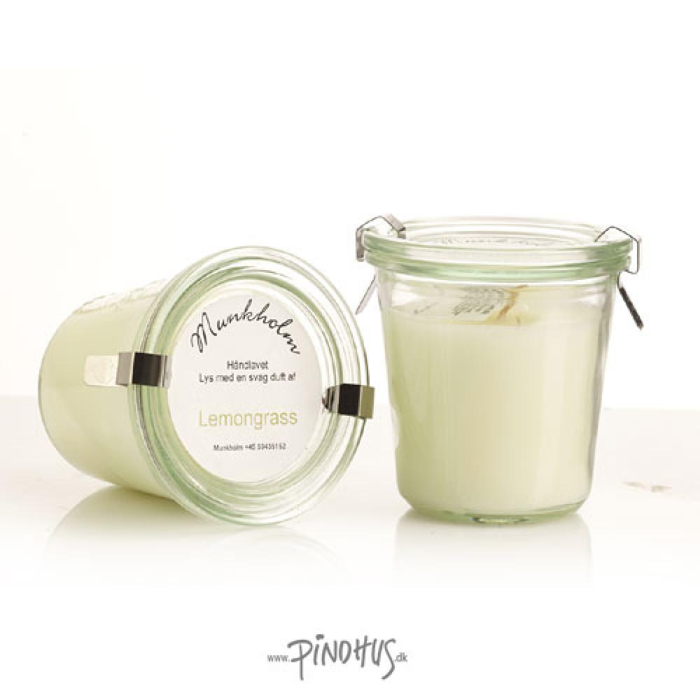 Munkholm duftlys Lemongrass-30