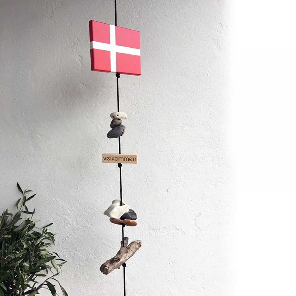 Nordic by hand Snoren m/ flag-31