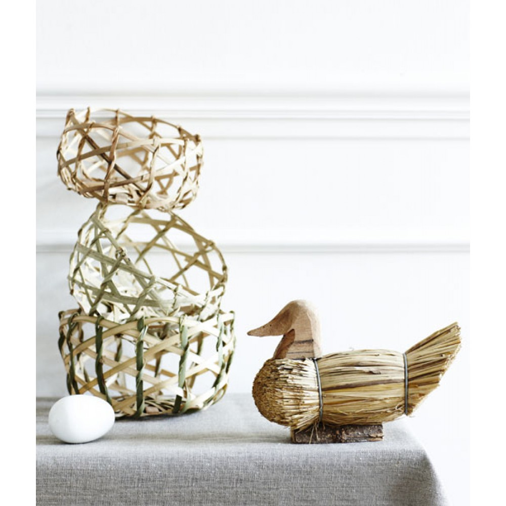 Bambus kurv 14cm-30