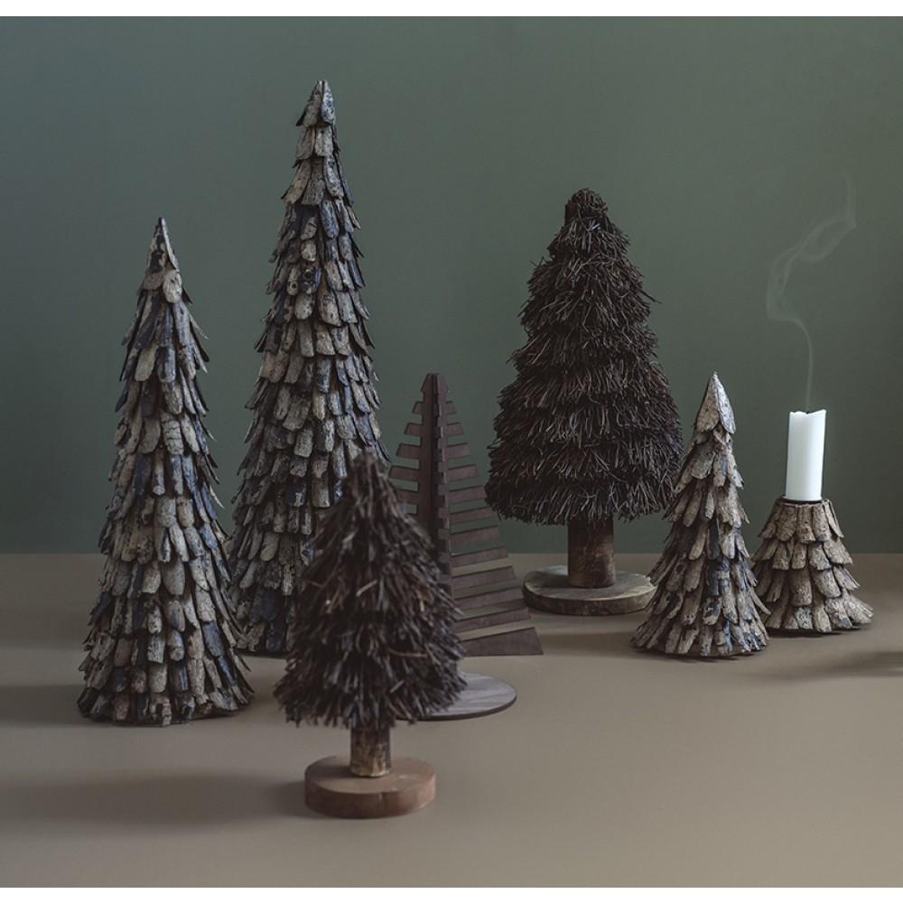 Rå bark juletræ-32