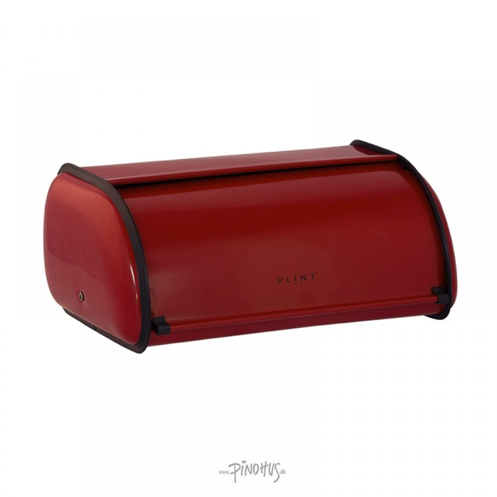 Brødkasse metal Rød-31