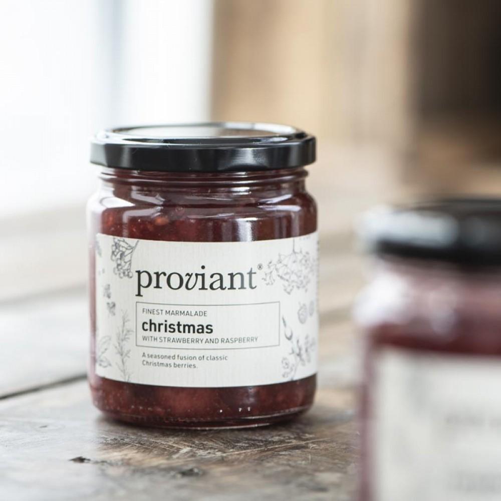 Proviant - Jule marmelade jordbær/hindbær