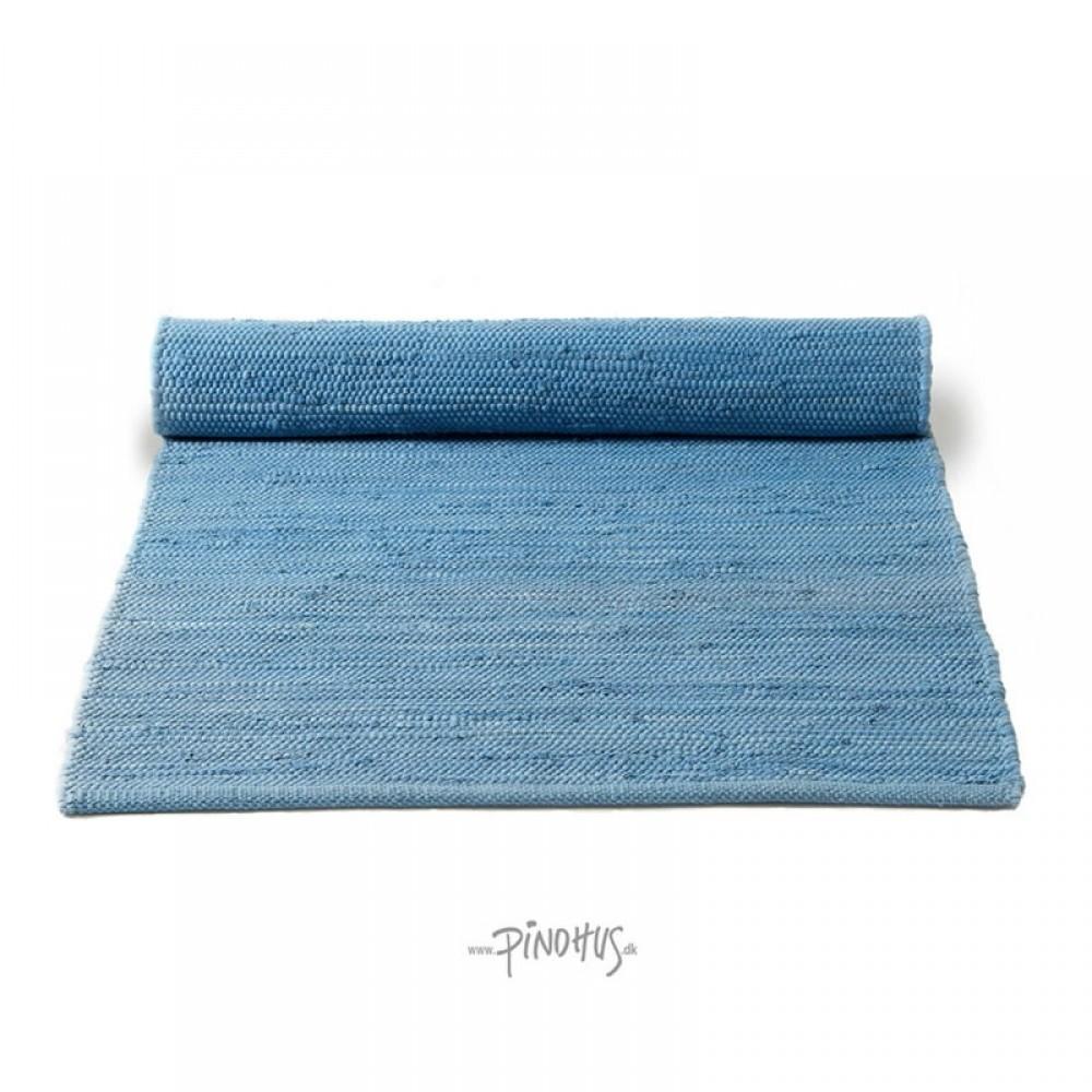 Kludetæppe bomuld Eternity blue-31