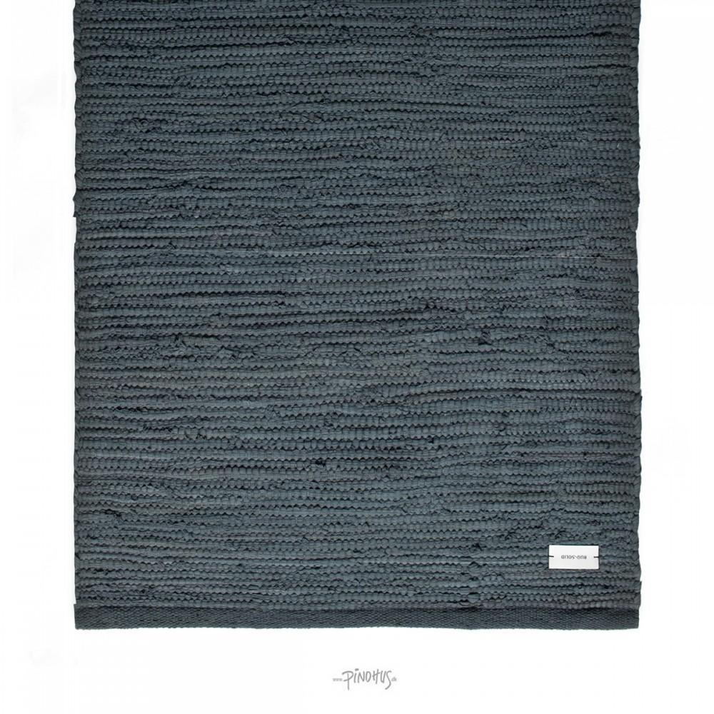 Kludetæppe bomuld Steel grey-35