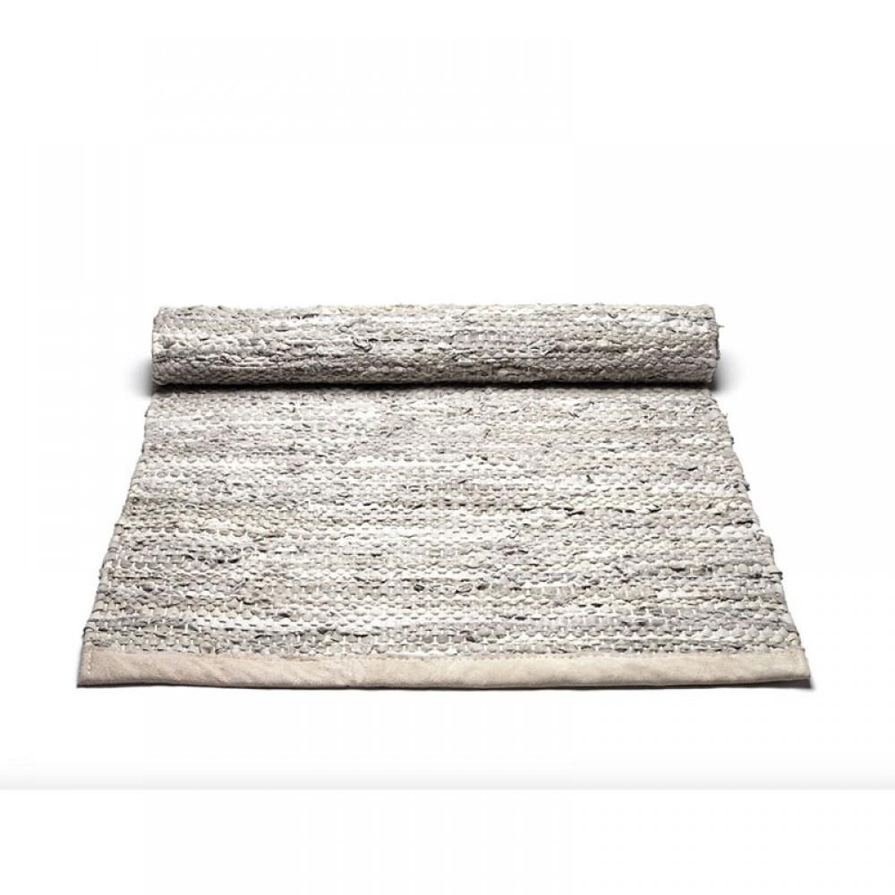 Læder gulvtæppe Natur-31
