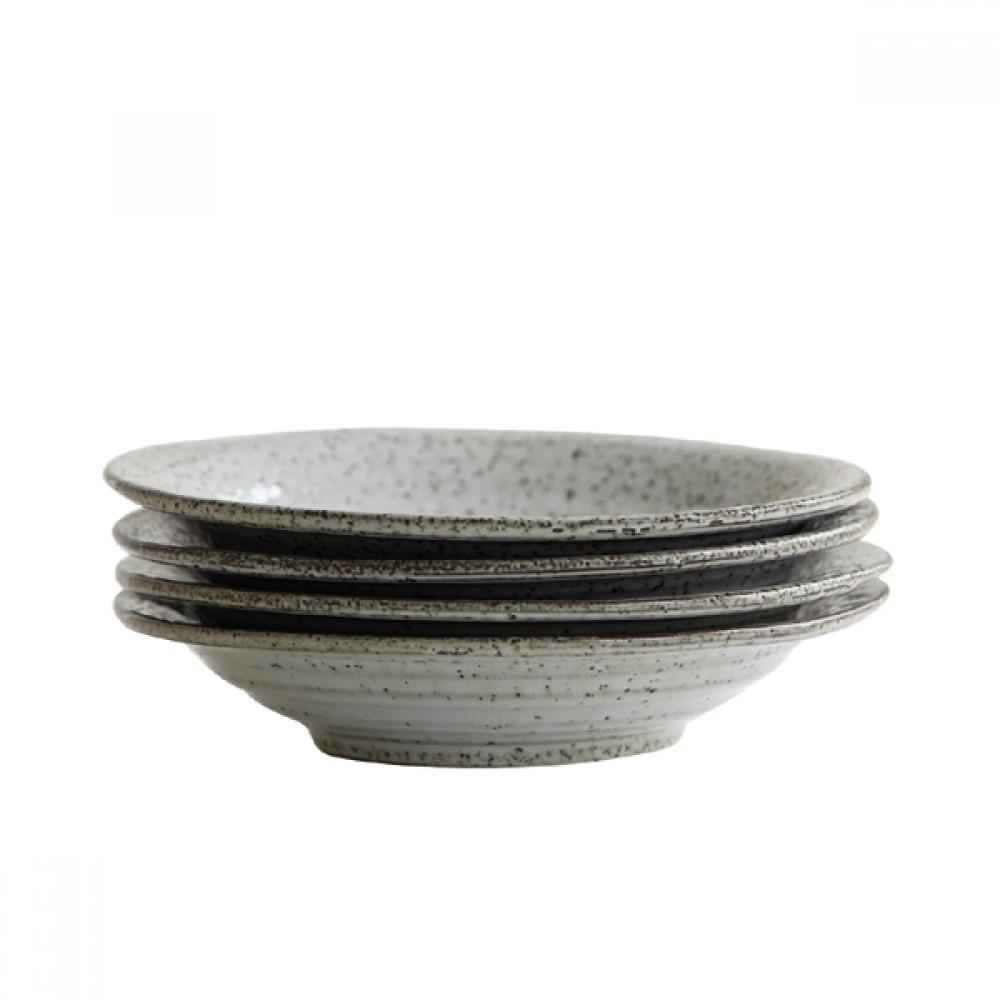 Rustic - Dyb tallerken/skål Ø25cm