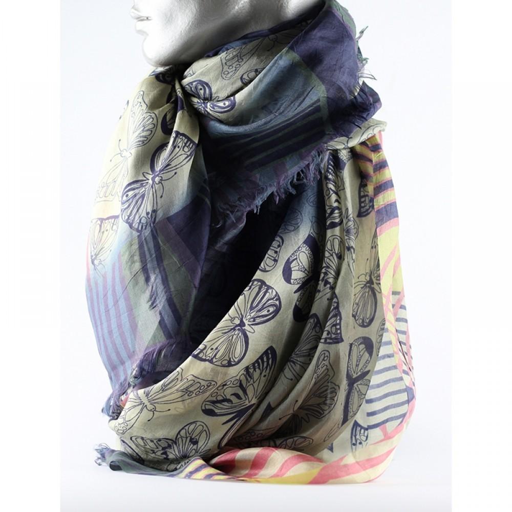 Aperitif silke tørklæde Butterfly-31