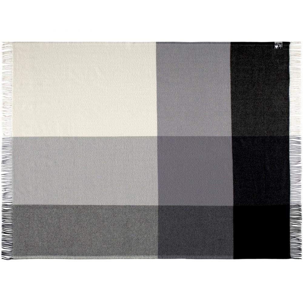 Merino uld plaid Mix farve Grå-30