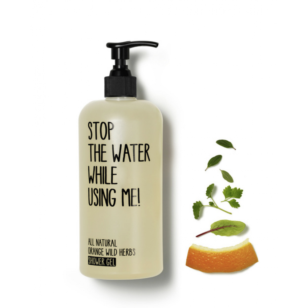 Stop the water Shower gel Orange herb-31