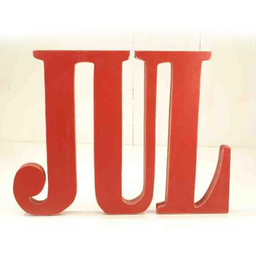 Skilt træbogstaver JUL-30