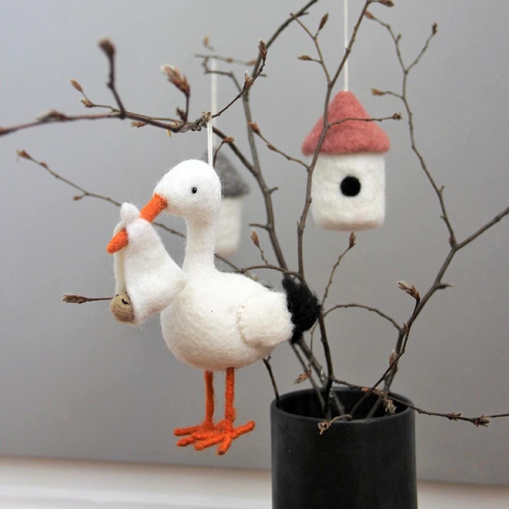 Én Gry & Sif - Stork i filt