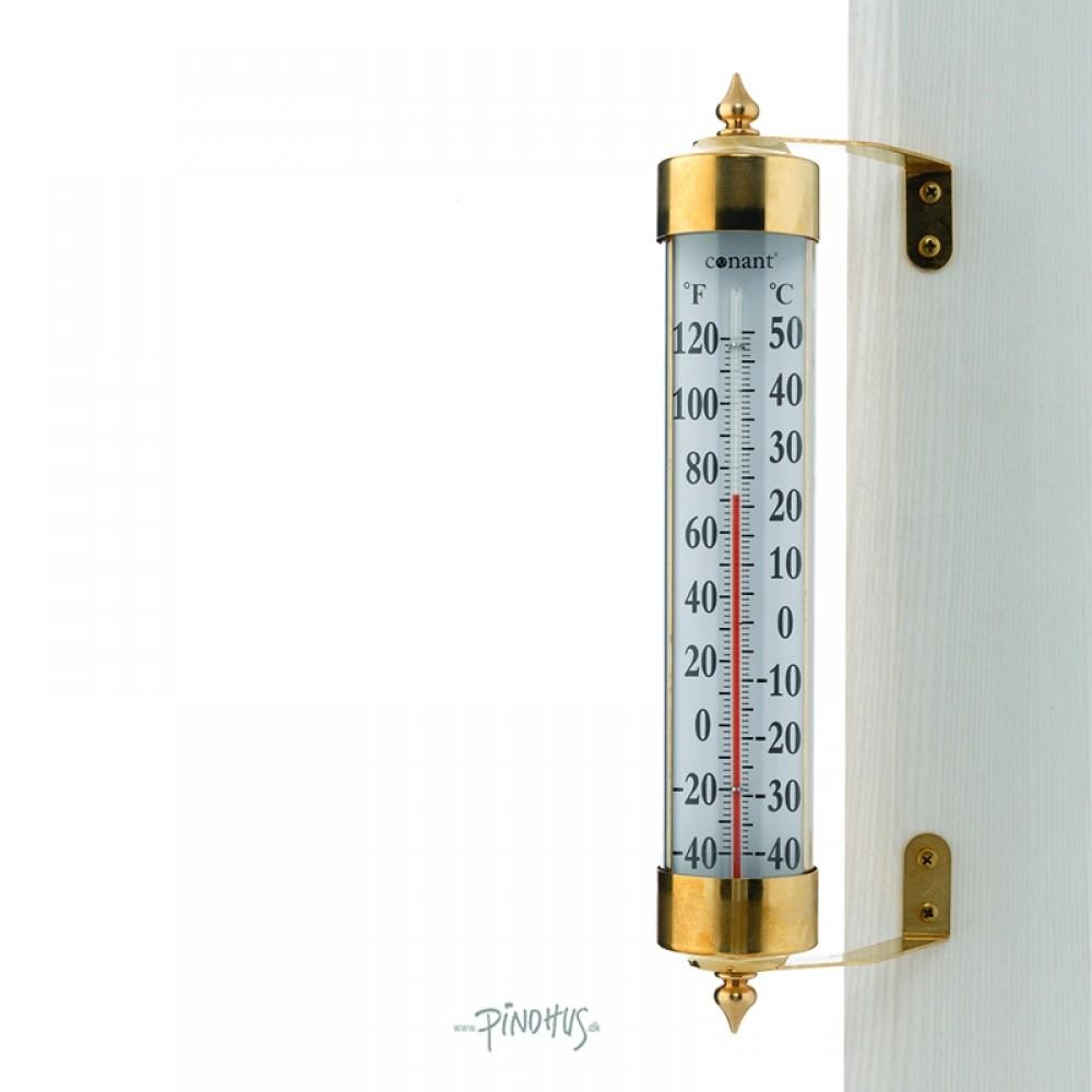 Maxi udendørs termometer i messing-31