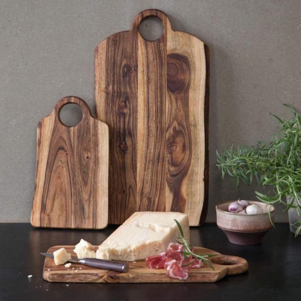 Stuff Design - Raw skærebræt m/håndtag 40cm
