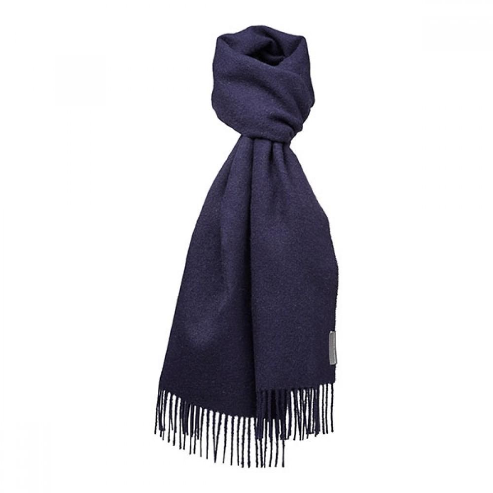 Halstørklæde - Baby alpaca navy