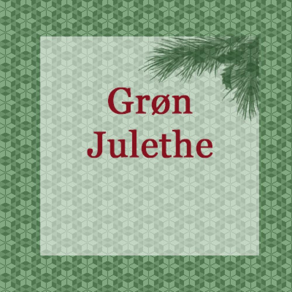 Grøn Julethe 100g.-31