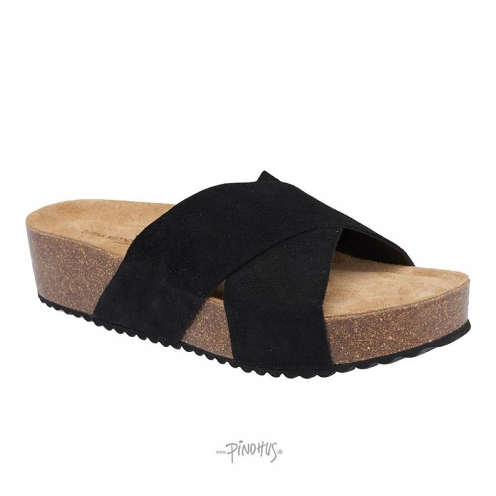Christina sandal - Sort