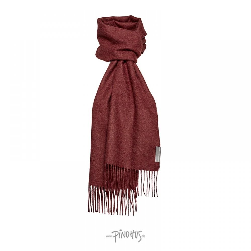 Halstørklæde Baby alpaca Bordeaux-31