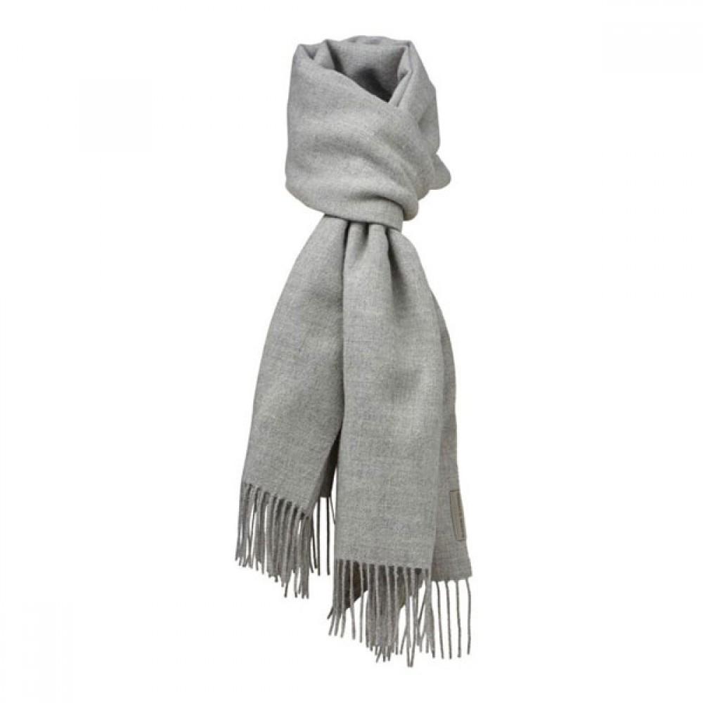 Halstørklæde Baby alpaca Lys grå-30