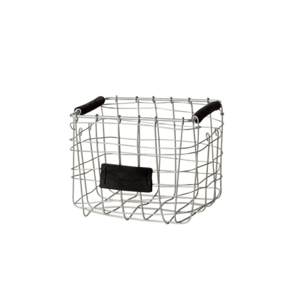 Trådkurv mini square H17cm-30