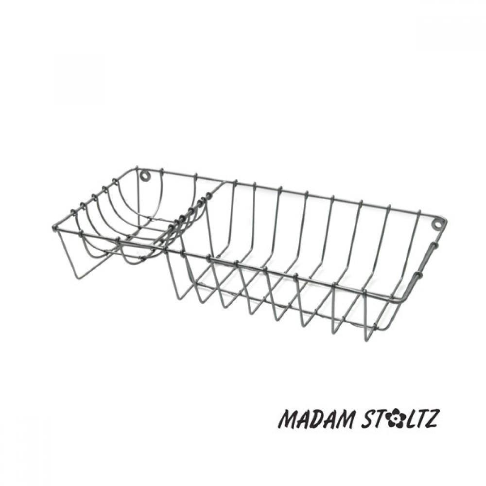 Madam Stoltz Trådkurv til sæbe-30