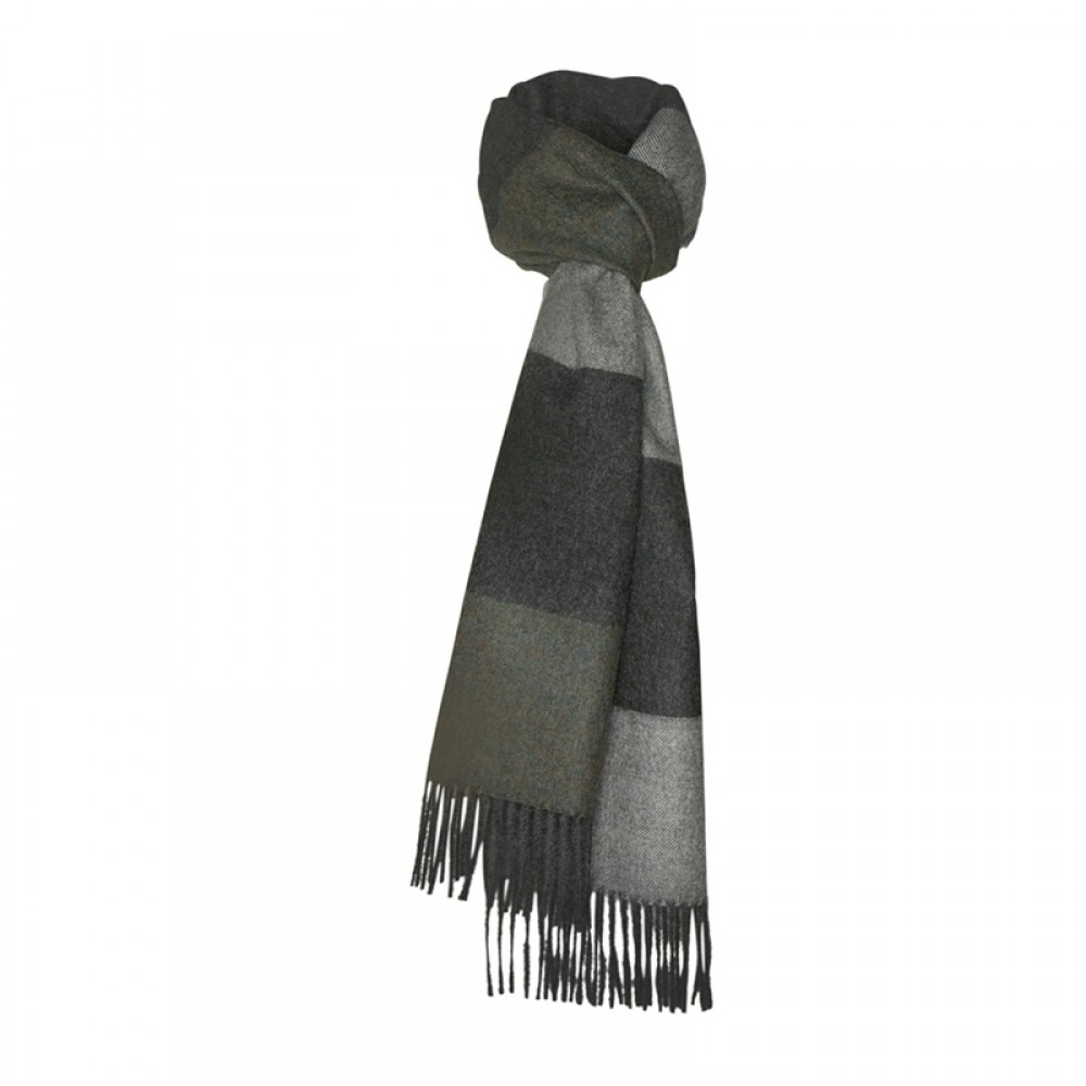 Halstørklæde - Baby alpaca salta grøn
